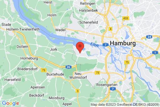 Karte Hamburg Neuenfelde