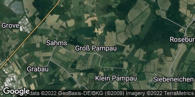 Google Map of Groß Pampau