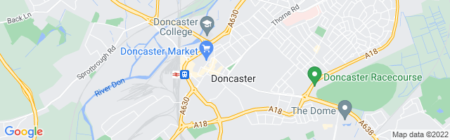 Map Of Doncaster