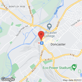 Map of Burger King at Doncaster Frenchgate Unit 11/12 B, Doncaster,  DN1 1SW