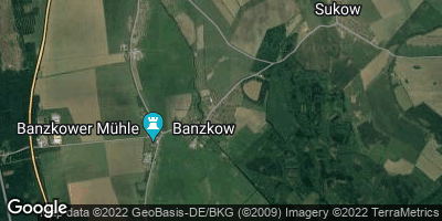 Google Map of Banzkow