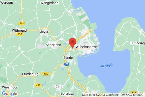 Karte Schortens Roffhausen