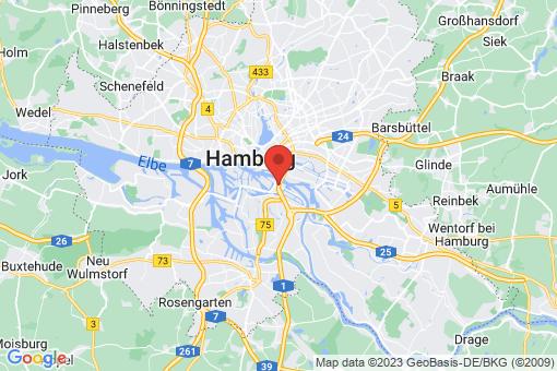 Karte Hamburg Veddel
