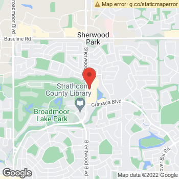 Map of Sherwood Park Optometry at 2020 Sherwood Drive, Sherwood Park, AB T8A 3H9