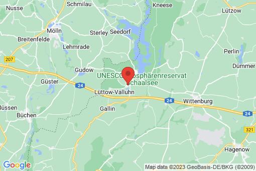 Karte Lüttow