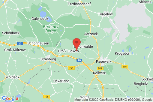 Karte Blumenhagen