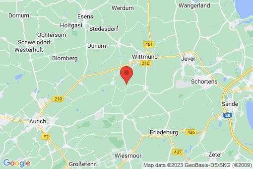 Karte Wittmund Hovel