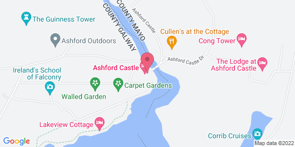 Get directions to George V at Ashford Castle