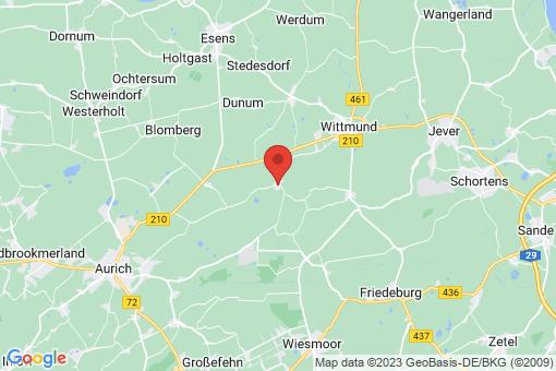 Karte Wittmund Ardorf
