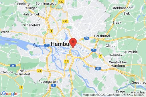 Karte Hamburg Rothenburgsort