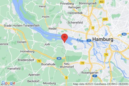 Karte Hamburg Cranz