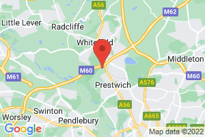 Greater Manchester Mental Health NHS Foundation Trust - The Curve Library on the map