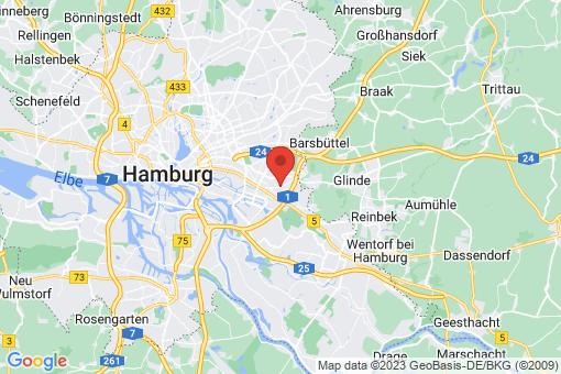 Karte Hamburg-Mitte  Billstedt