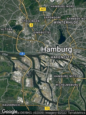 Google Map of Steinwerder