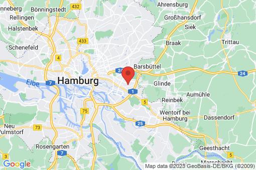 Karte Hamburg Billstedt