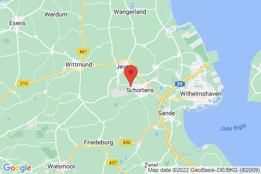 Karte Schortens Oestringfelde