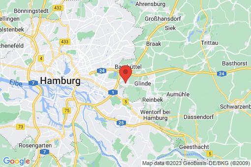Karte Oststeinbek