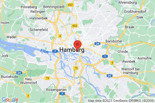 Karte Hamburg Klostertor