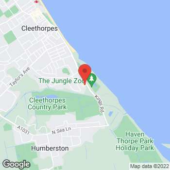 Map of Taco Bell at Kings Road, Cleethorpes,  DN350AQ