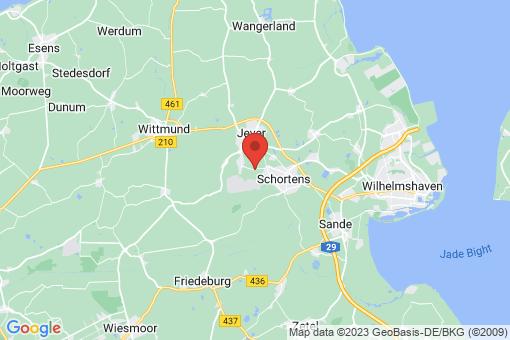 Karte Schortens Addernhausen