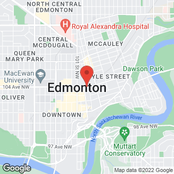 Map of Tim Hortons at Hwy 28a - Falaise Ave, Edmonton, AB T5J 4J5