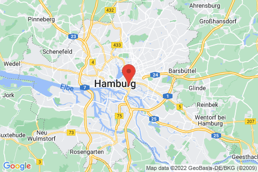 Karte Hamburg Hammerbrook