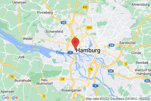 Karte Hamburg Altona-Altstadt