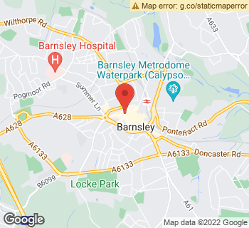 Map of Pickerings (Barnsley) at 1 Peel street, Barnsley, South Yorkshire S70 2RA