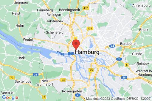 Karte Hamburg-Altona