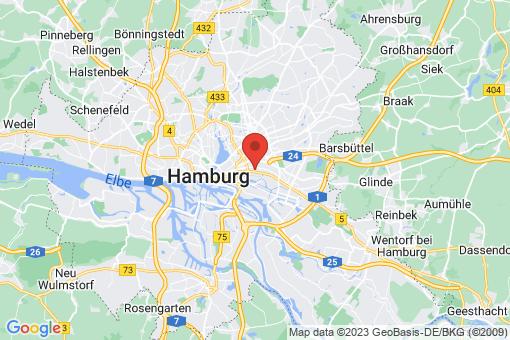 Karte Hamburg Hamm-Mitte