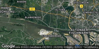 Google Map of Nienstedten