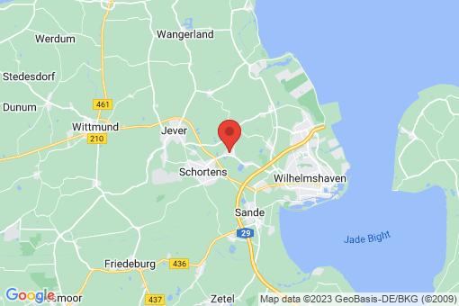 Karte Schortens Grafschaft