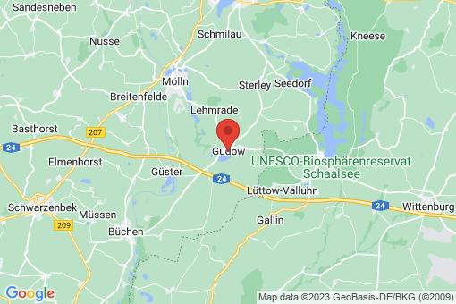 Karte Gudow