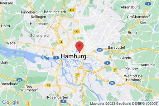 Karte Hamburg Sankt Georg