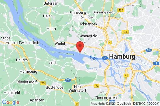Karte Hamburg Blankenese