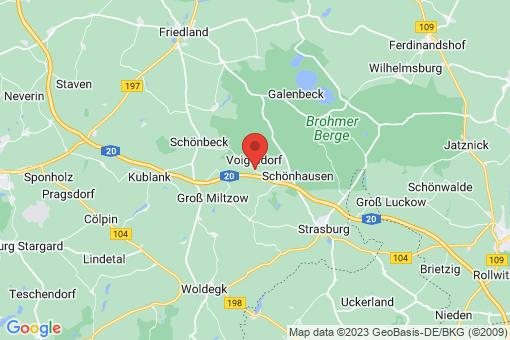 Karte Voigtsdorf