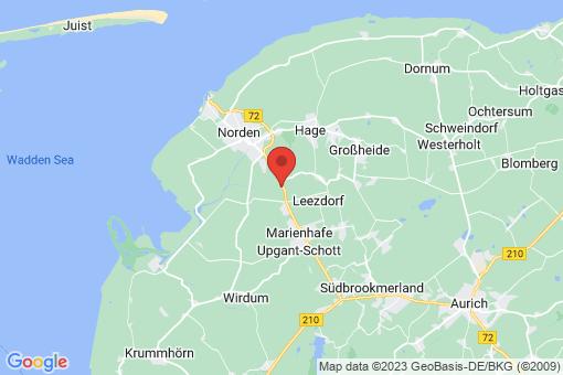 Karte Norden Süderneuland II