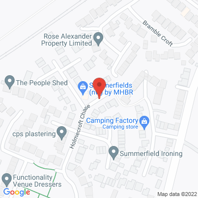 Map of 20 Holmecroft Chase, Westhoughton, BL5 3ZN