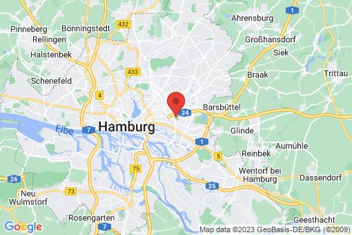 Karte Hamburg Marienthal