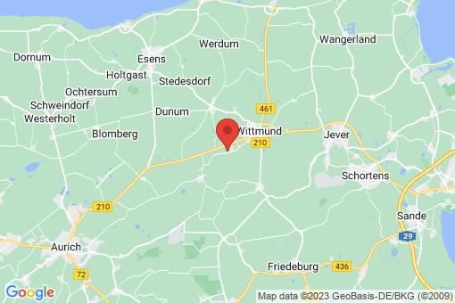 Karte Wittmund Willen