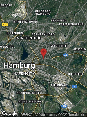 Google Map of Hamm-Nord