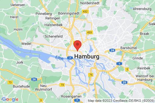 Karte Hamburg Altona-Nord