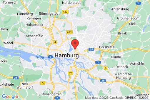 Karte Hamburg Hohenfelde