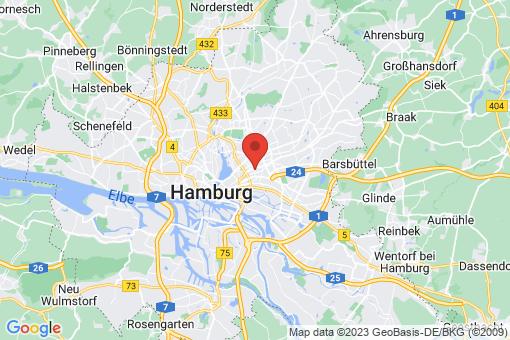 Karte Hamburg Eilbek