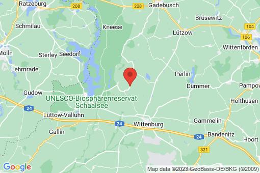 Karte Tessin bei Wittenburg