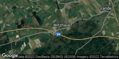 Google Map of Witzhave