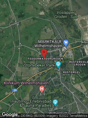 Google Map of Fedderwardergroden