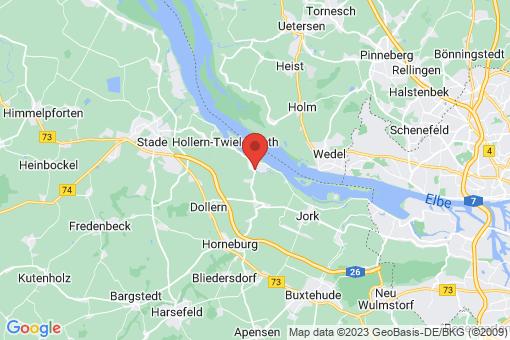 Karte Grünendeich