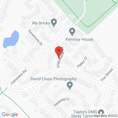 Map of 59 Greenbank Road, Radcliffe, M26 4FR