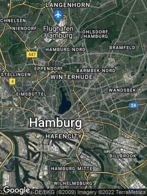 Google Map of Uhlenhorst